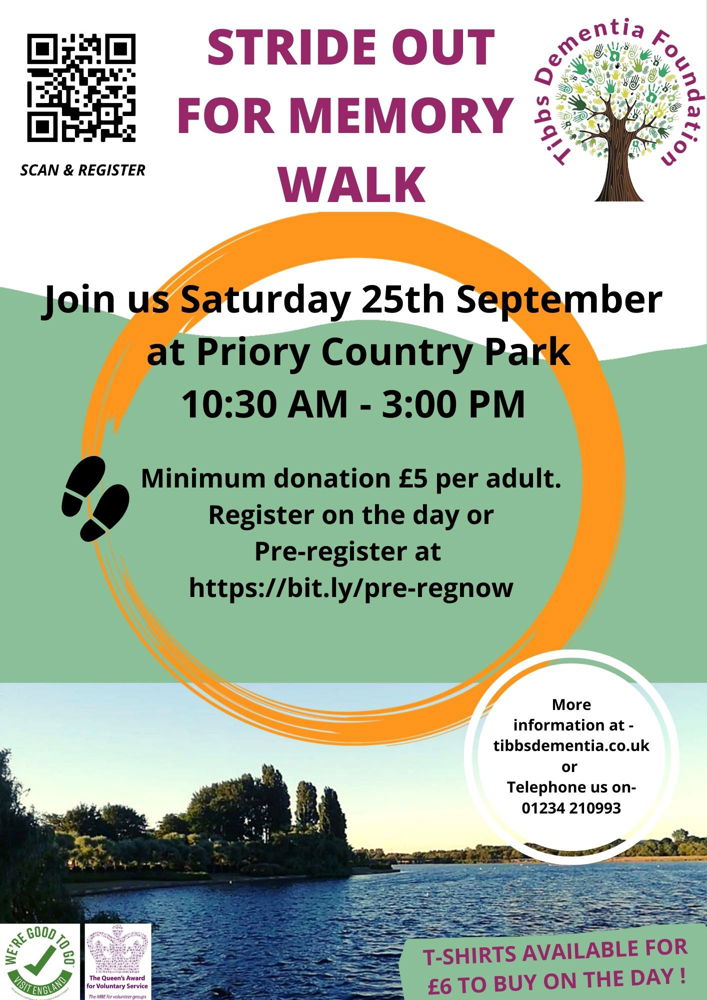 TIBBS STRIDE OUT FOR MEMORY WALK
